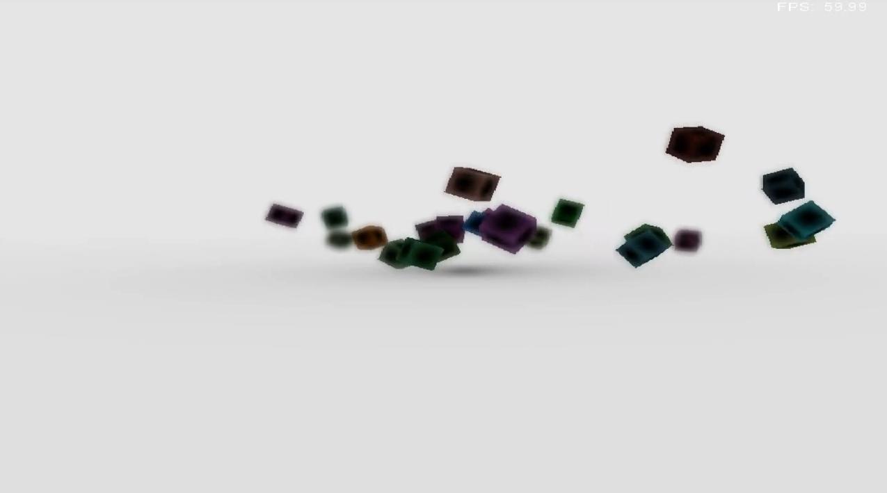 Tumbling Cubes